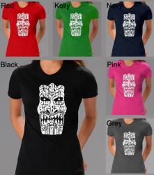 Los Angeles Pop Art Women's Tiki Big Kahuna T-shirt