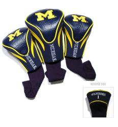 Michigan Wolverines NCAA Contour Wood Headcover Set 8554661