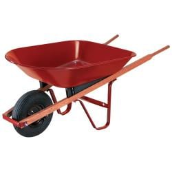 Ames 4CF Steel Wheelbarrow Consists Of 3 Parts