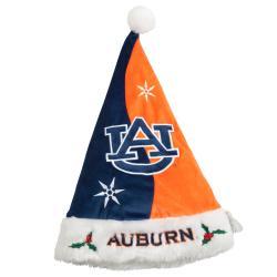Auburn Tigers Colorblock Santa Hat 8558342