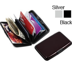Premium RFID Blacking Aluminum Wallets (Case of 20)
