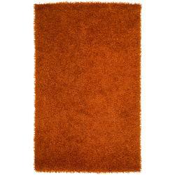 Hand-woven Seward Soft Shag (5' x 8')