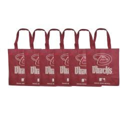Forever Collectibles MLB Arizona Diamondbacks Reusable Bags (Pack of 6) 8565136