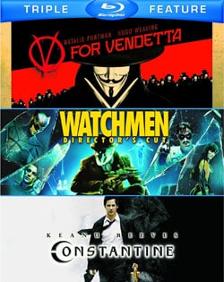 V For Vendetta/Watchmen/Constantine (Blu-ray Disc) 8566290
