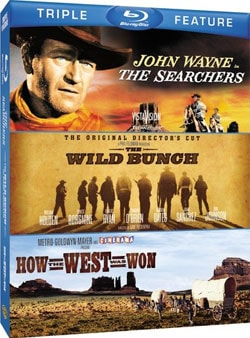 The Searchers/The Wild Bunch/How The West Was Won (Blu-ray Disc) 8566293