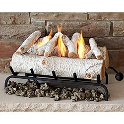 Real Flame Birch Convert-To-Gel Log Set