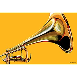 Maxwell Dickson 'Sound The Trumpet' Wall Decor Canvas Art
