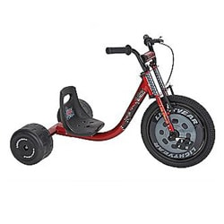 Huffy Disney Cars Steel-frame Slider Tricycle with Adjustable Seat