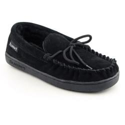 Bearpaw Women's 'Moc II' Black Loafers Shoes