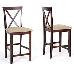 Natalie Counter Height Stools (Set of 2)