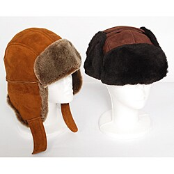 Cloak & Bowler Men's Sheepskin Hat