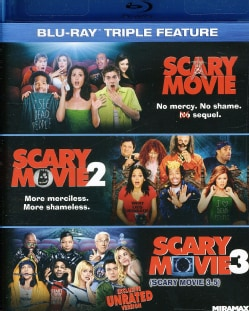 Scary Movie Triple Feature (Blu-ray Disc) 8589337