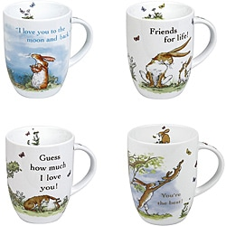 Konitz Guess How Much I Love You Mugs Assorted (Set of 4) 8595490