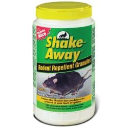 Shake Away Rodent Repellent Granules, 5-Pounds