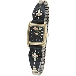 Black Hills Gold Ladies Cross Watch
