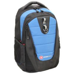 "SwissGear ""The Anthem"" Blue Laptop Backpack 16-inch"