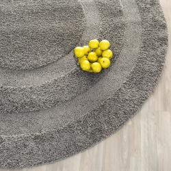 Safavieh Ultimate Dark Grey Shag Rug (6' 7 Round)