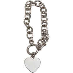 Premium Toggle Heart Bracelet (Case of 500)