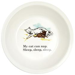 Ore Cat Nap Ceramic Bowl