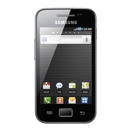 Samsung Galaxy Ace S5830 Unlocked Black Android Cell Phone