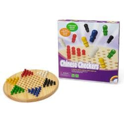 Wooden Chinese Checkers Game Set 8623436