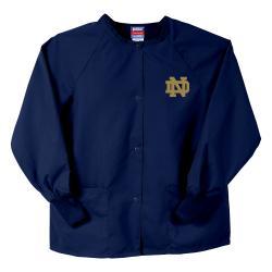 Gelscrubs Navy NCAA Notre Dame Fighting Irish Nurse Jacket