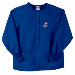 Gelscrubs Unisex Royal Kansas Jayhawks Nurse Jacket