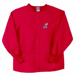 Gelscrubs Unisex Red Kansas Jayhawks Nurse Jacket
