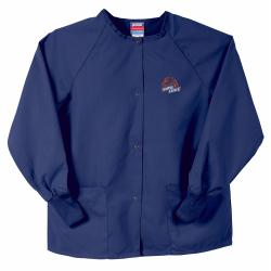 Gelscrubs Unisex Navy NCAA Boise State Broncos Nurse Jacket