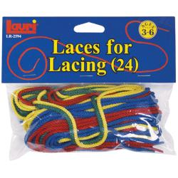 Patch Products-Smethport-Lauri Extra Laces Assorted Colors (24/Pkg)