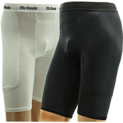 McDavid Men's Padded Sliding Shorts with Athletic Cup Pocket