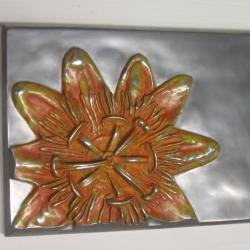 Alex Pagulayan Passiflora Handmade Metal Wall Panel (Philippines) 8628444