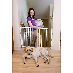 Regalo 2-in-1 Top-of-Stairs Safety Gate