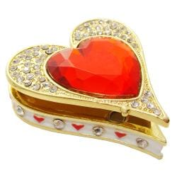 Objet d'art 'Queen of Hearts' Trinket Box