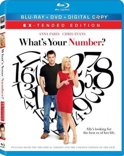 What's Your Number? (Blu-ray/DVD) 8634427