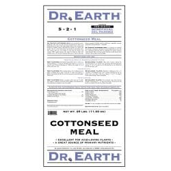 Dr Earth Cottonseed Meal Fertilizer