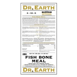Dr Earth Fish Bone Meal Fertilizer