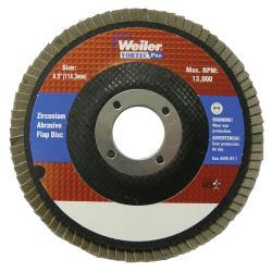 Vortec Pro 80-Grit Abrasive Zirconium-Coated Flap Disc