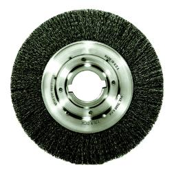 Trulock Medium-Face Crimped Steel Wire Wheel