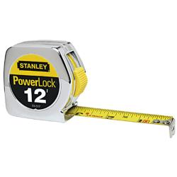 Stanley Yellow 12-foot Taperuler