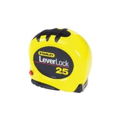 Stanley Leverlock Tape 25-foot Tape Measurer