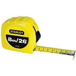 Stanley Tape Rule 26-foot Tape Measurer