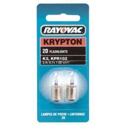 Rayovac Krypton Bulb For 2-D Cell Flashllight
