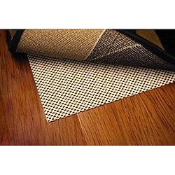 Comfort Hold White PVC-coated Knit Polyester Rug Pad (7'6 x 10'8)