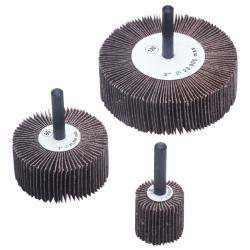CGW Abrasives 1 1/2 inch x 1 x 1/4 Aluminum Oxide Flap Wheel