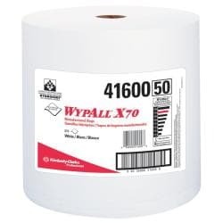 WypAll 1-ply White Jumbo Rag-On-A-Roll