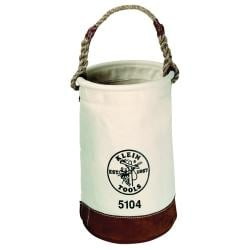 Klein Tools Leather-Bottom Canvas Tool Bucket