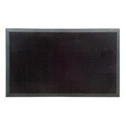 XXL Outdoor Black Rubber Stud Door Mat (32 x 48)