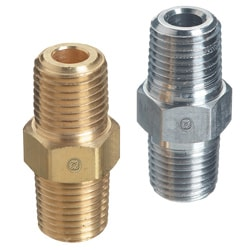 Western Enterprises Pipe Thread Hex Nipples