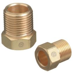 Western Enterprises Male Nut Inert Arc Fitting